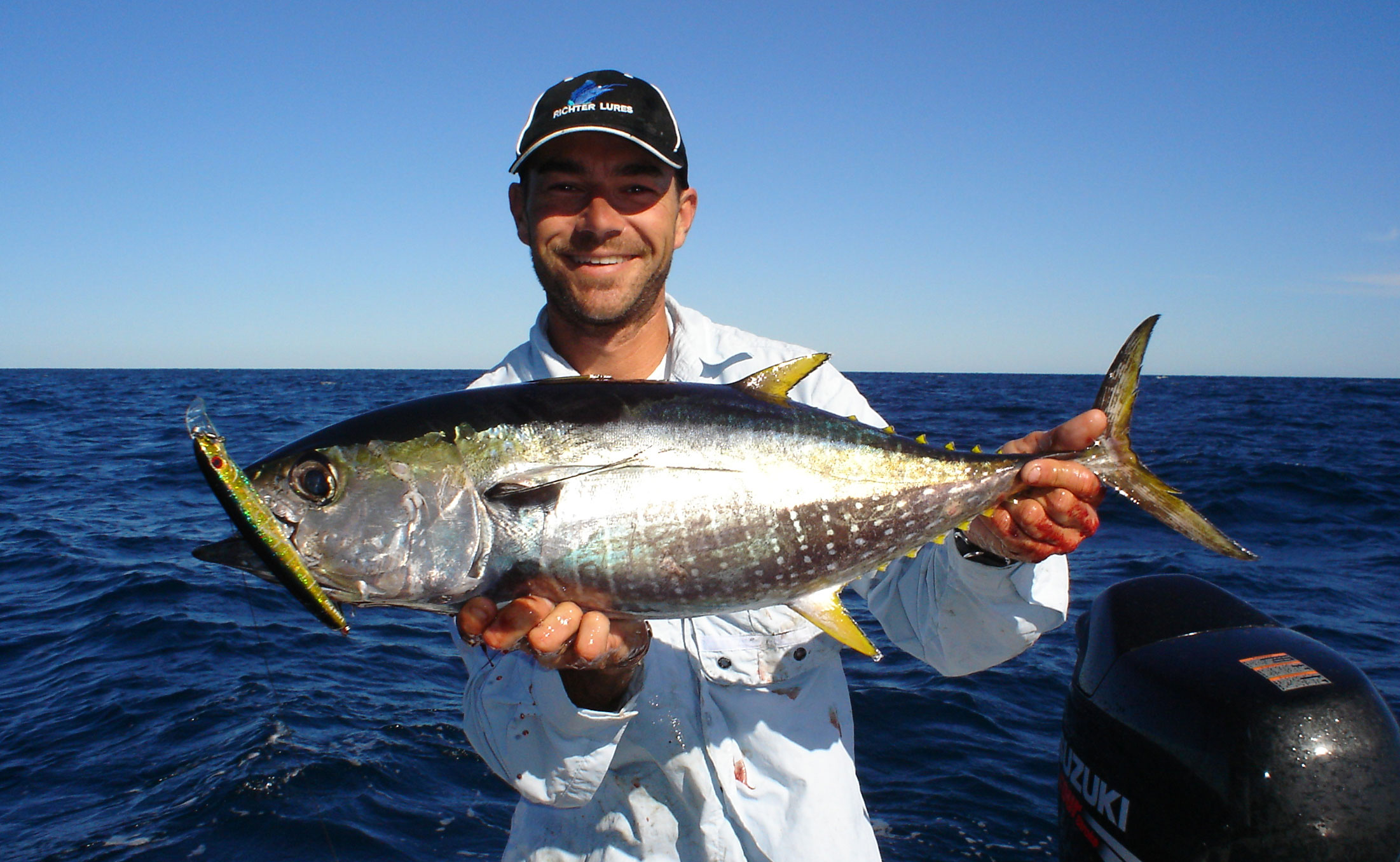 Nick Hocking with a Yellowfin Tuna