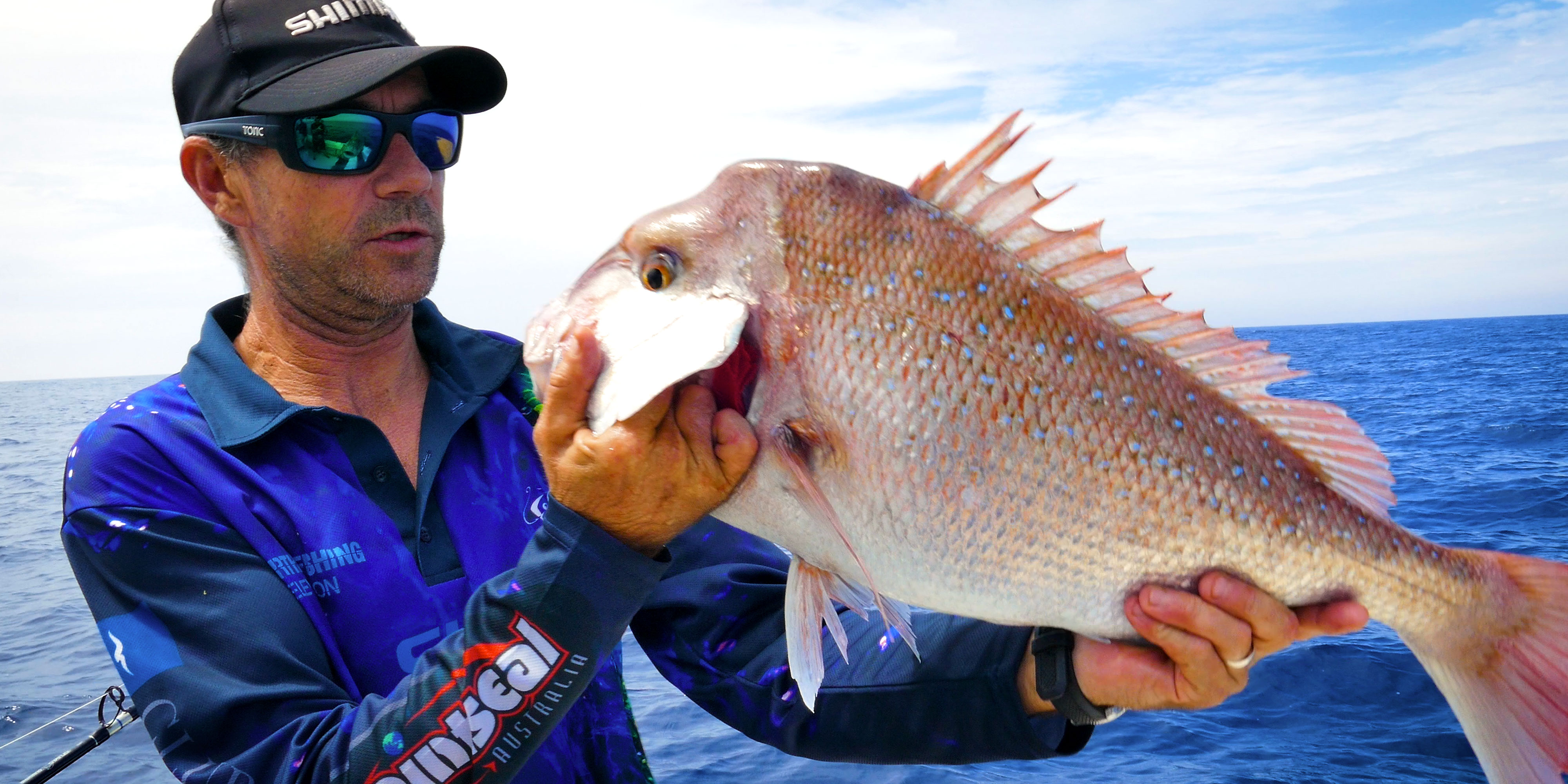Pink Snapper from Deep Water