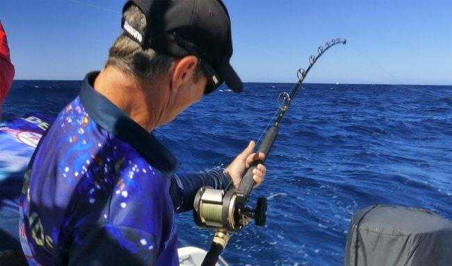 Nick Hocking with a big Rottnest Island hookup