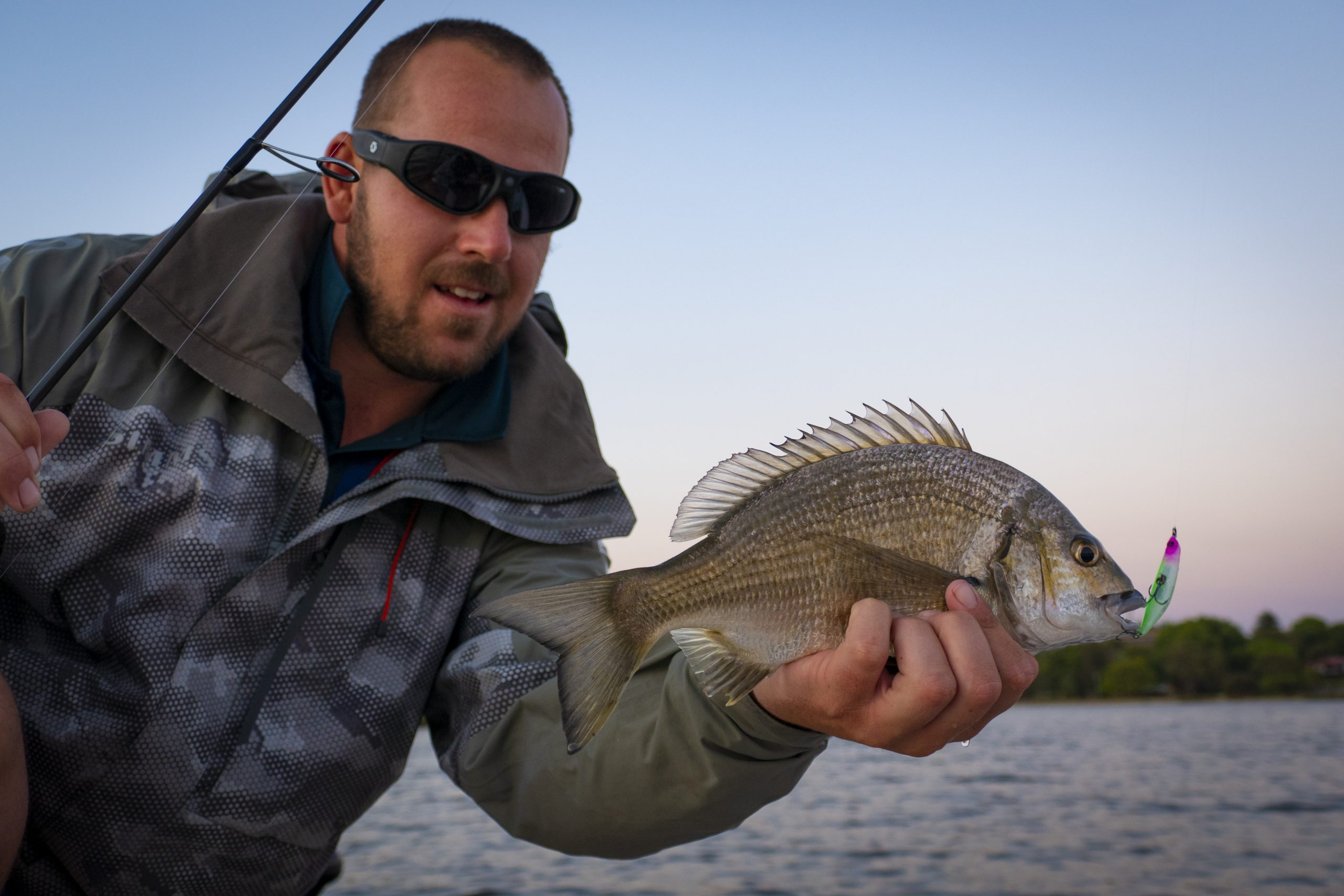 Ruan Ven Der Berg with a Swan River Bream