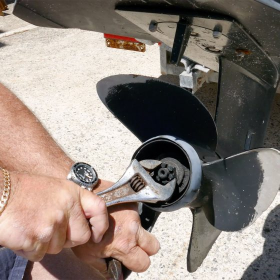 Replacing Propeller