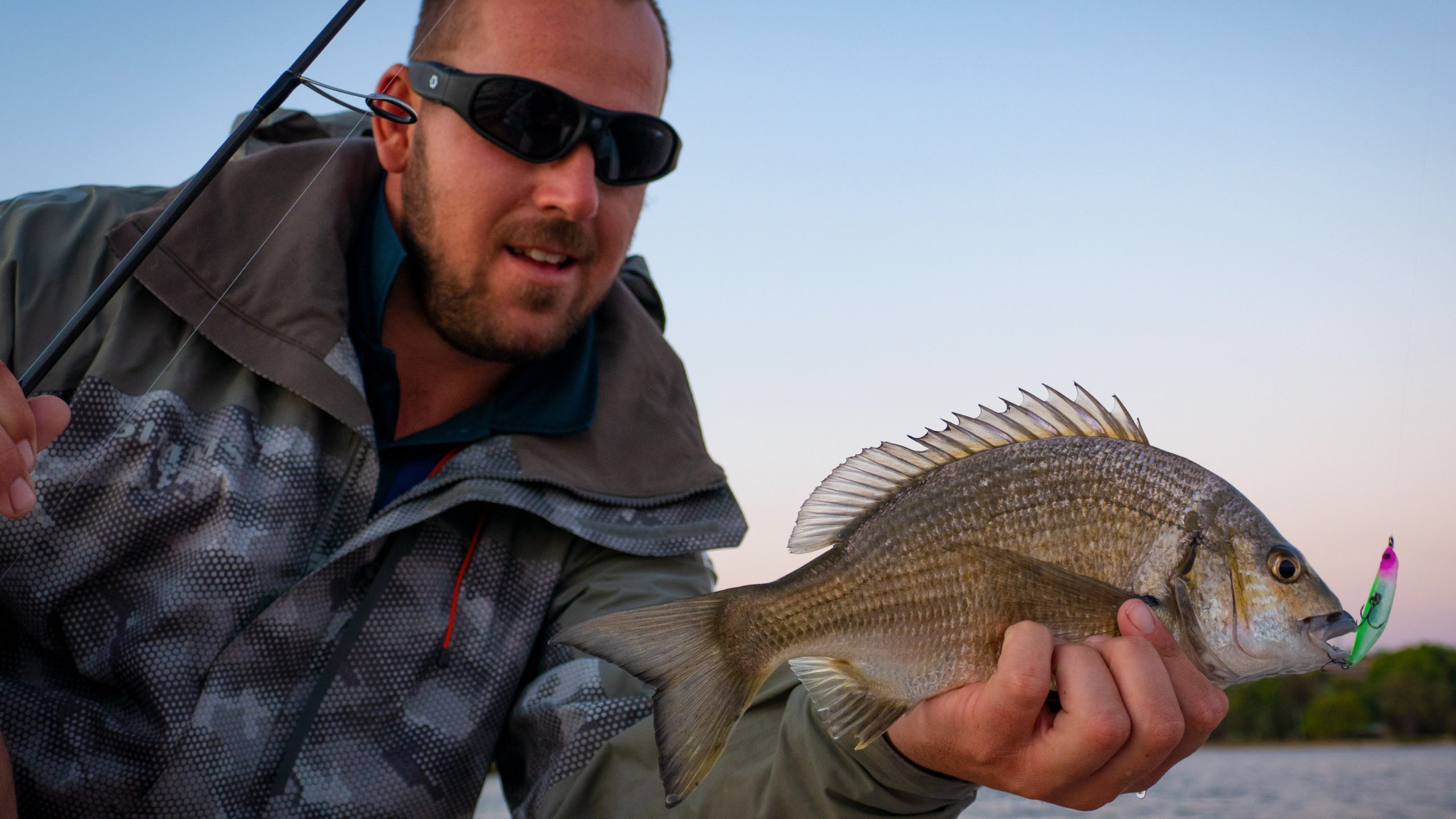 Black Bream caught by Ruan van der Berg