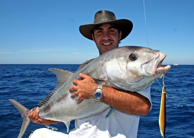 Samsonfish caught by Paul Welch