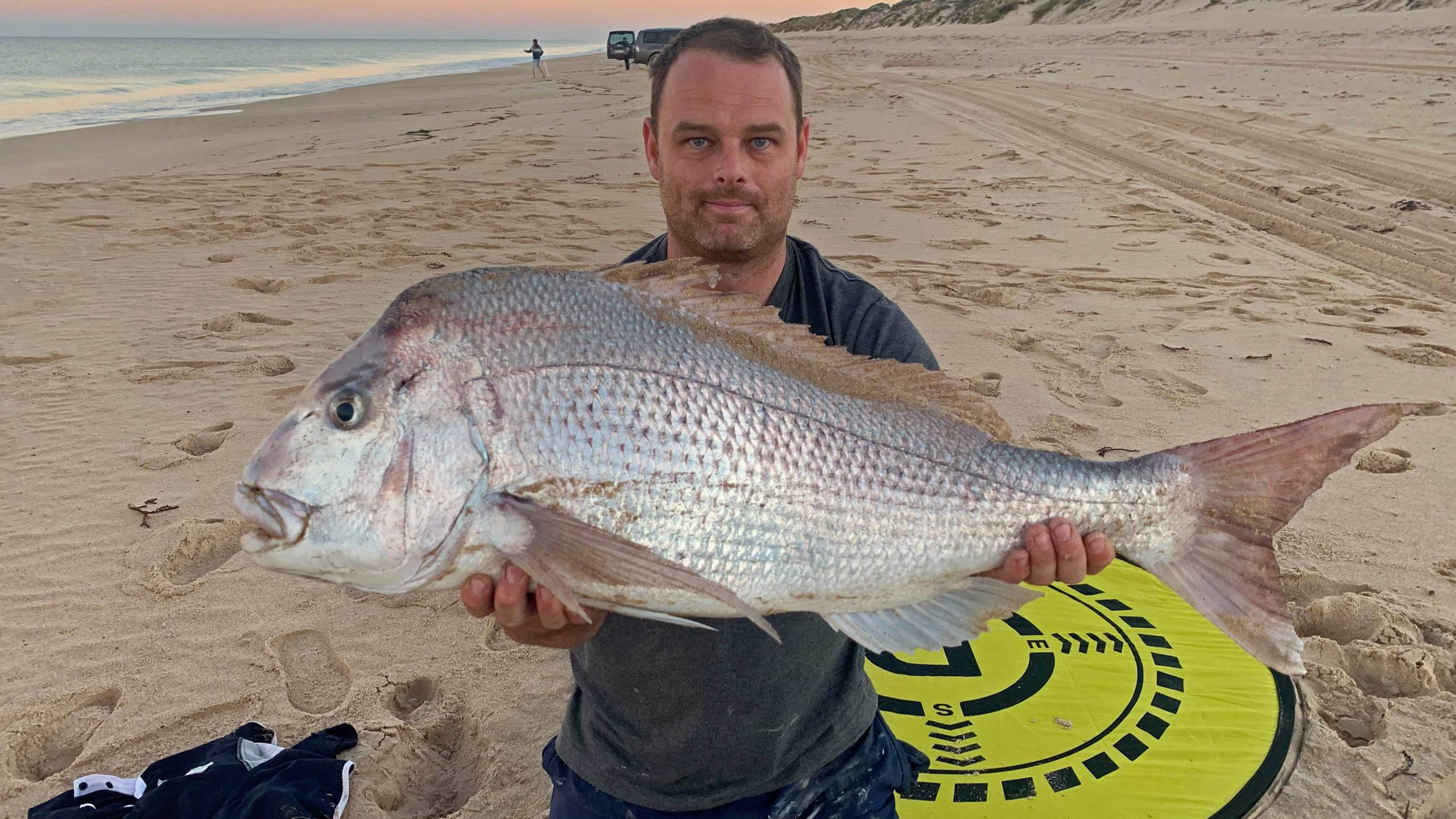 Pink Snapper Caught with Drone