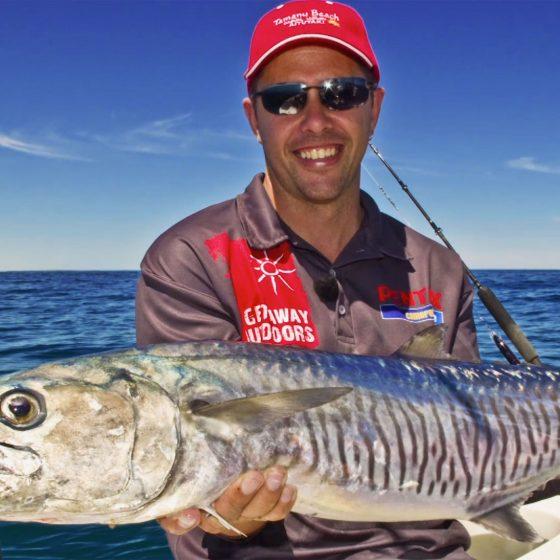 Paul Green with a Jurien Bay Spanish Mackerel