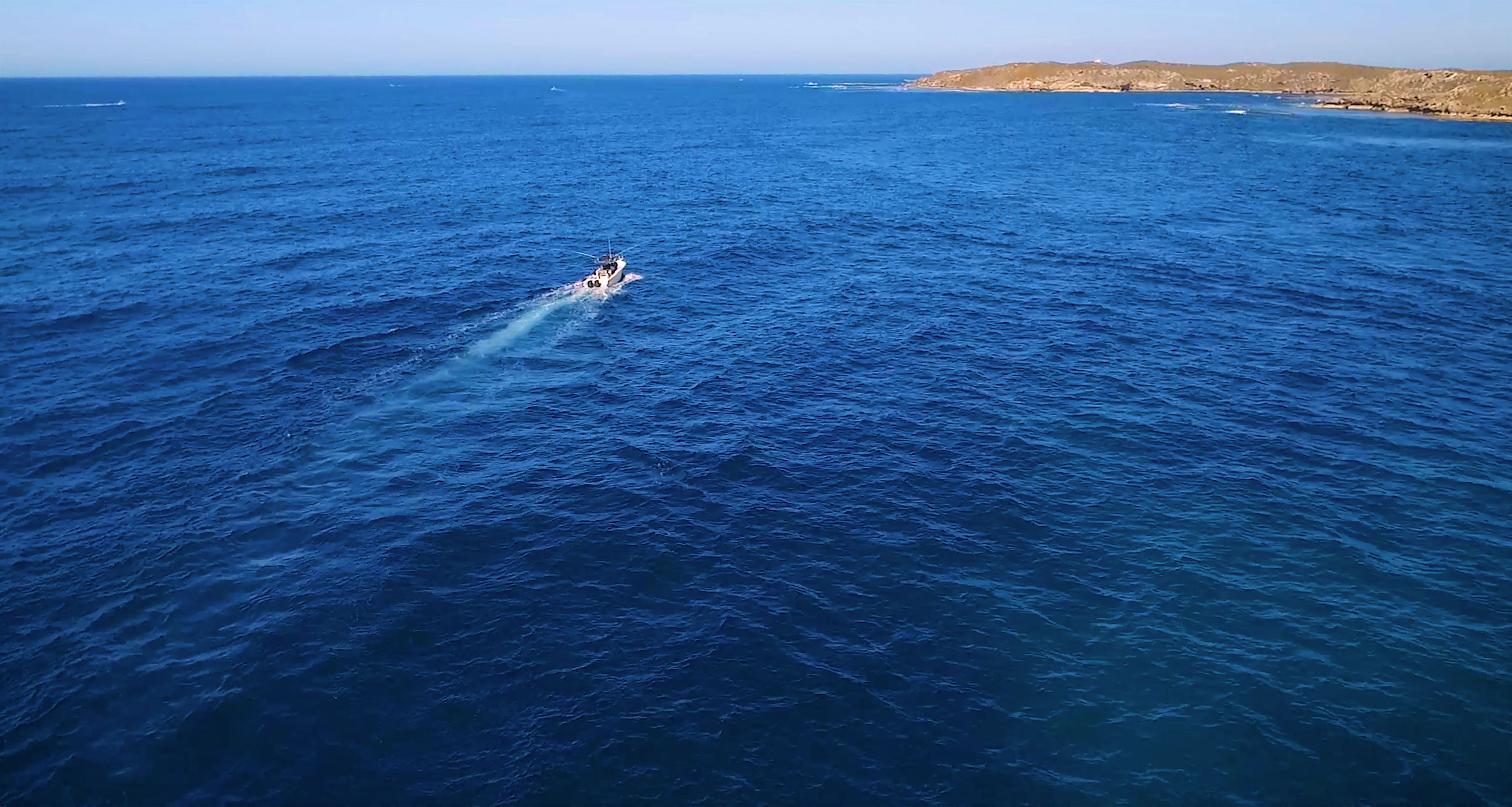 Trolling the South Side of Rottnest Island