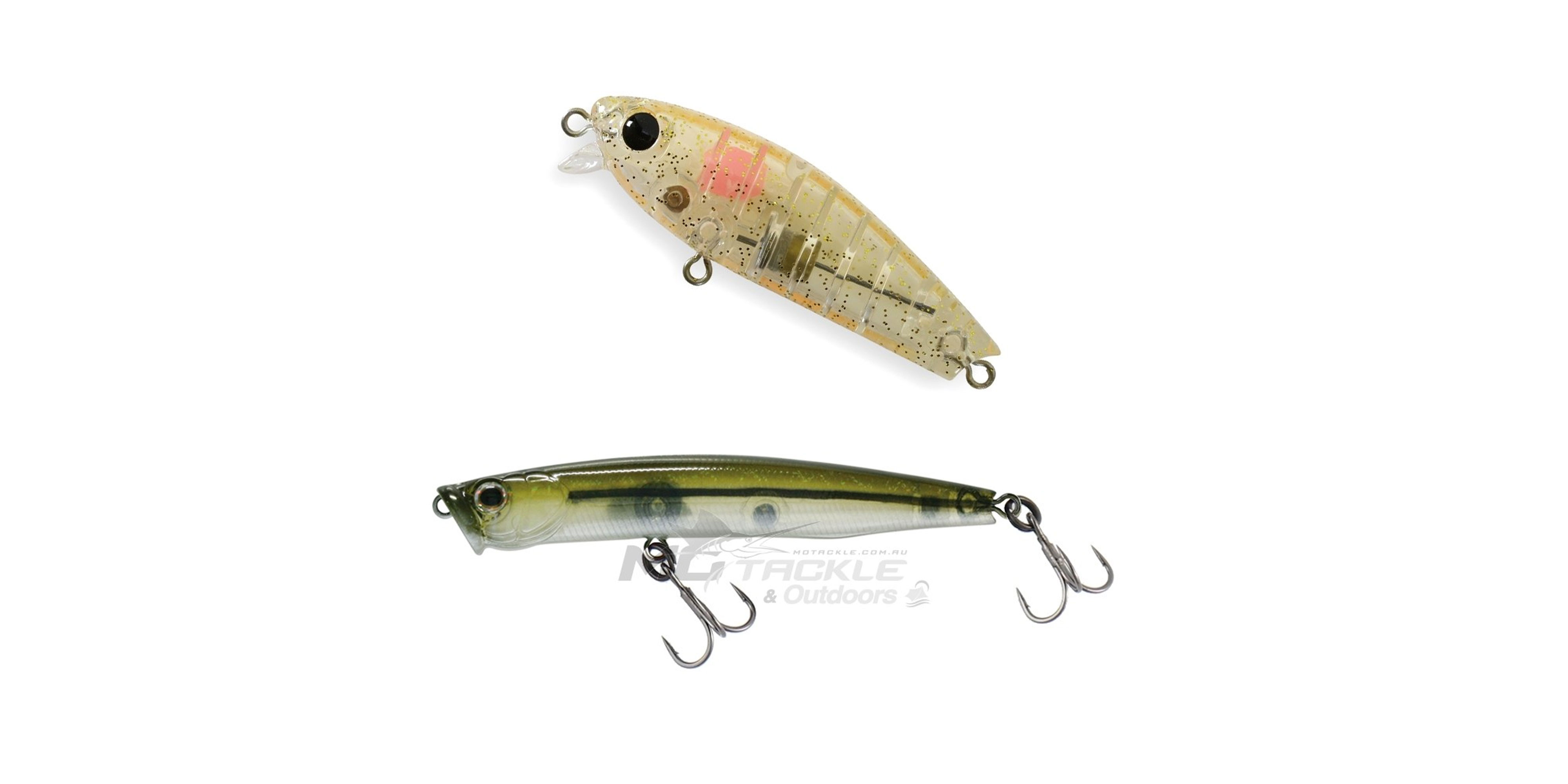 Lipple and Skinny Pop Jr Lures
