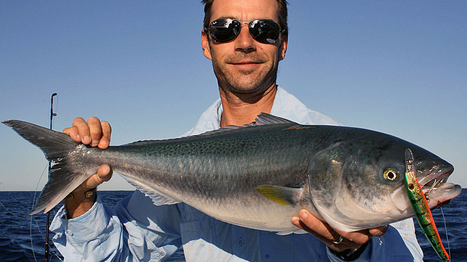 Nick Hocking with a Salmon